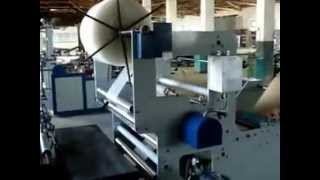 preview picture of video '(bubble mailer)craft paper bubble film laminating machine'
