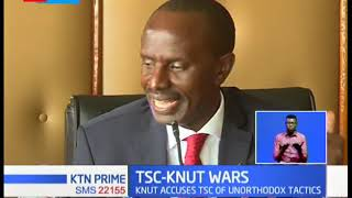 KNUT petition TSC to reinstate 80,000 teachers illegally offloaded from teachers membership register