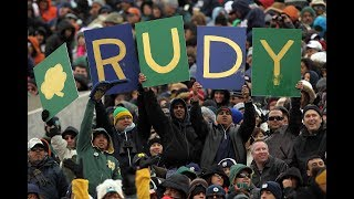 """Former Notre Dame TE Kyle Rudolph Weighs In on the """"Rudy"""" Legend 