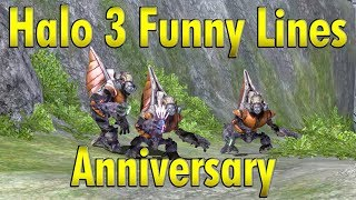 Halo 3 Funny Lines Anniversary