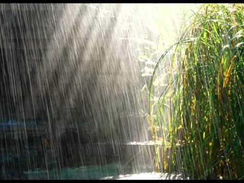 Красивая мелодия дождя.