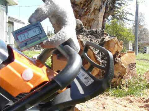 How to not chainsaw with the Husqvarna 395xp - смотреть