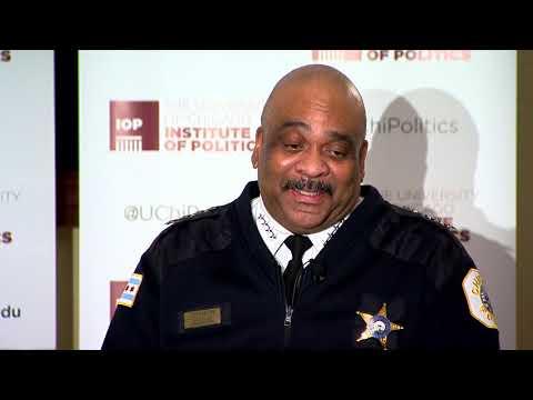 Chicago Police Department Superintendent Eddie Johnson