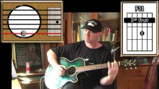 Sometimes When We Touch - Dan Hill - Acoustic Guitar Lesson (easy-ish)