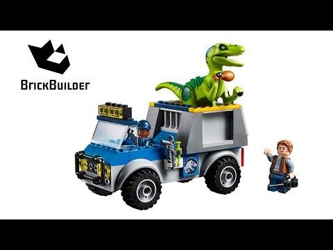 Vidéo LEGO Juniors 10757 : Le camion de secours des raptors (Jurassic World)
