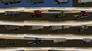 Trailer Pack With Double Trailers For ATS 1.6 And 1.28 | ATS MODS