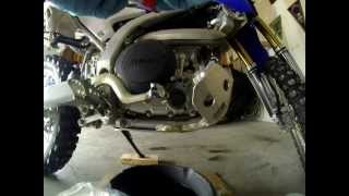 WR250R Oil And Filter Change