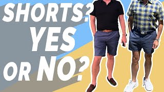 Should Older Men Wear Shorts Over 40?   Feedback Series   Ashley Weston & Dorian