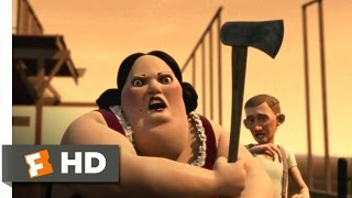 Monster House (7/10) Movie CLIP - She Died, But She Didn