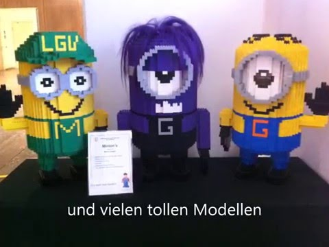 LEGO Ausstellung EMS-Lounge in Wien