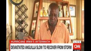 Devastated Anguilla slow to recover from Hurricane Irma they need cash from the British Government