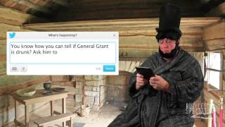 Tweets of the Rich & Famous: Abe Lincoln #2
