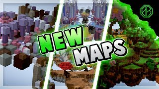ALL SIX *NEW* SOLO MAPS IN HYPIXEL SKYWARS! (Hacker FIRST Game)