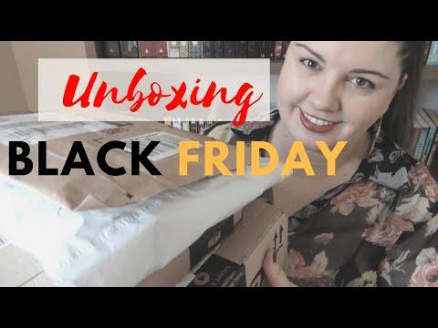 Unboxing  de Black Friday | Leitura por Amor