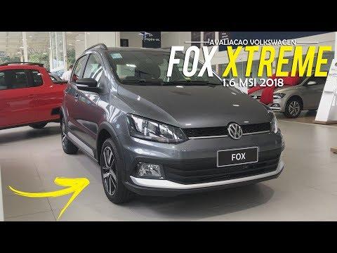 Avaliação | Novo Volkswagen Fox Xtreme 1.6 MSI 8V 2018 | Curiosidade Automotiva®