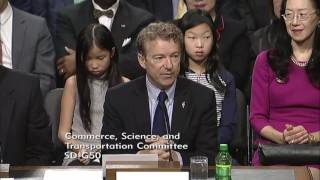 Sen. Rand Paul Introduces Transportation Sec. Nominee Elaine Chao - Jan. 11, 2017