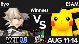 SSC16  - Noble | Ryo (Corrin) vs PG | ESAM (Pikachu) Winners - Smash 4