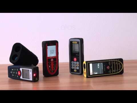 Das PCE Instruments-Sortiment - Distanzmessgeräte / Distanzmesser