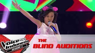 """Mayumi """"Anoman Obong""""   The Blind Auditions   The Voice Kids Indonesia Season 2 GlobalTV 2017"""
