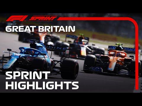 F1第10戦イギリスGP(シルバーストン)の17周で行うスプリントレースのハイライト動画
