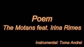 The Motans Feat. Irina Rimes   POEM (karaoke) | Toma Andrei