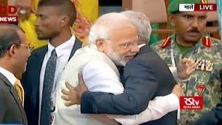 PM Modi attends swearing-in ceremony of Maldives Prez Ibrahim Mohamed Solih