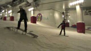 preview picture of video 'July 10 - Freestyle Day Course - Maverix - Milton Keynes Sno!Zone'