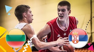 Lithuania v Serbia - Class. 5-8 - Full Game - FIBA U16 European Championship 2018