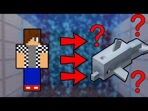 PROMĚNIL JSEM SE Z ČLOVĚKA V DELFÍNA ??!! - Minecraft UPDATE 1.13 w/ Vendali