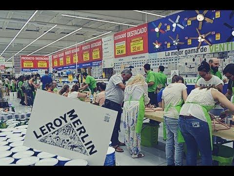 LEROY MERLIN CELEBRA LA NOCHE DE LOS TALLERES EN BADAJOZ