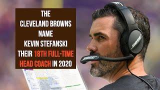 Meet Kevin Stefanski, Cleveland Browns head coach
