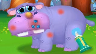Jungle Animal Care Games For Kids - Let's Save The Forest And Cute Animals