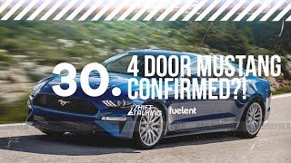 4 Door Mustang Confirmed?   Shift Talking Ep. 30