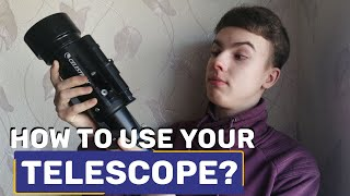 How to use your Telescope? (Quick guide for beginners)