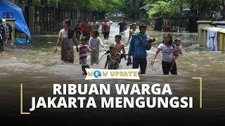Jakarta Banjir Lagi, Ribuan Orang Harus Mengungsi