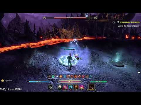 ESO vMA Magicka Nightblade 591k Summerset