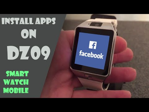DZ09 : Installing Apps and Games on DZ09 Mobile Watch