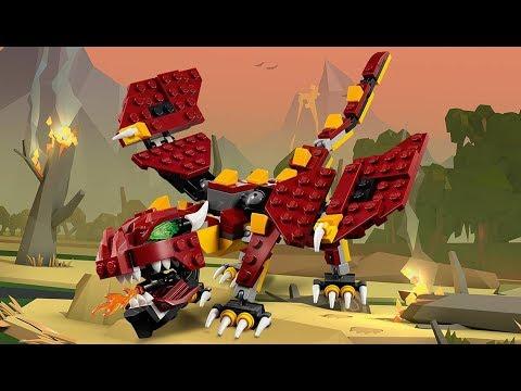 Vidéo LEGO Creator 31073 : Les créatures mythiques