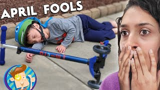 APRIL FOOLS! + Win Money Challenge & New Grill = RUINED! (FV Family Vlog #stayhome)