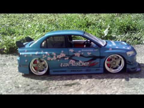 1:24 Mitsubishi Lancer Evolution VIII by Jada Toys