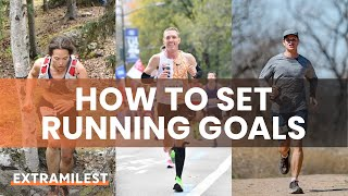 How to set your running goals? Want to reach BIG GOALS in running, here is how!