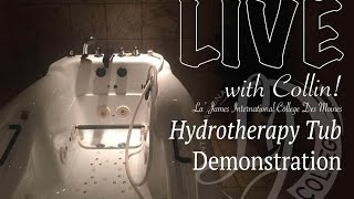 Hydrotherapy Tub Demo