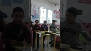 مسرحية العمل : تلاميذ السنة الثانية