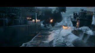 Greyhound Ship Battle #TomHanks #Bestmovietrailer