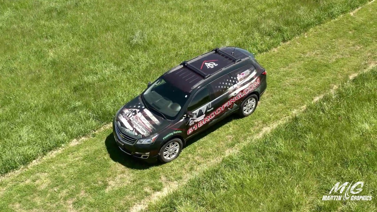 Wrap Presentation on Chevy Traverse