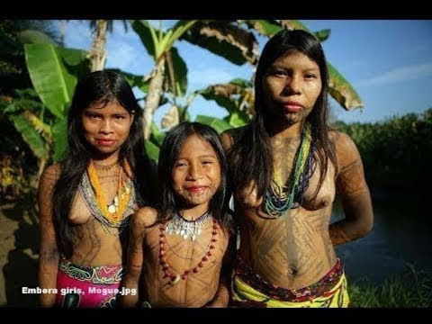 Tears Of The Girls In Amazon   Video of Uncontacted Amazon Tribes in Brazil _NEWupdate