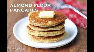 keto pancakes with almond flour and coconut flour