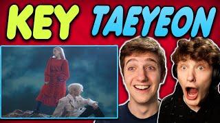 KEY - 'Hate that...' Feat. TAEYEON MV REACTION!!
