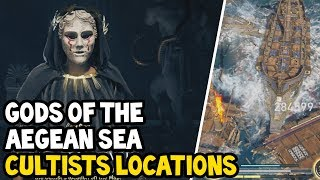 Assassin's Creed Odyssey - ALL GODS OF THE AEGEAN SEA CULTISTS Location Walkthrough
