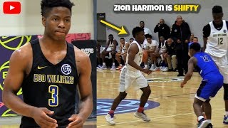 Zion Harmon Will Give YOU Buckets! SHIFTY PG w/ Court Vision & RANGE